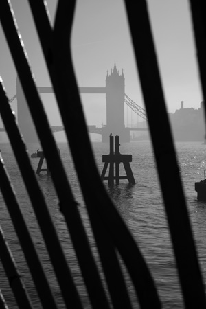 Tower Bridge mist