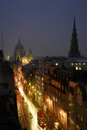 Fleet Street and St Paul's Cathedral