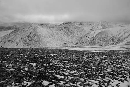 Catstye Cam and Helvellyn, Cumbria